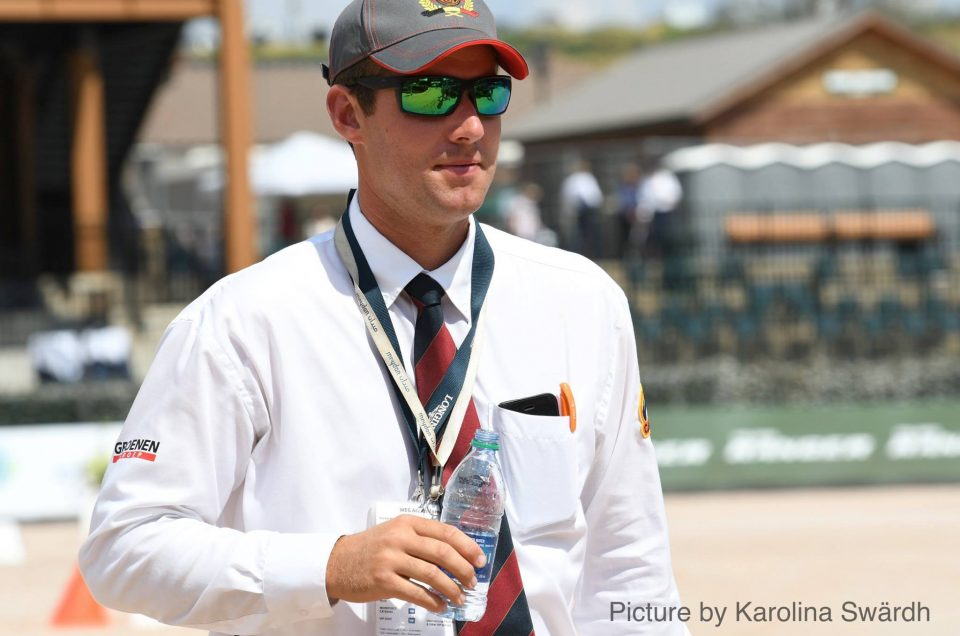 Edouard Simonet BEL European Championship Driving 2019
