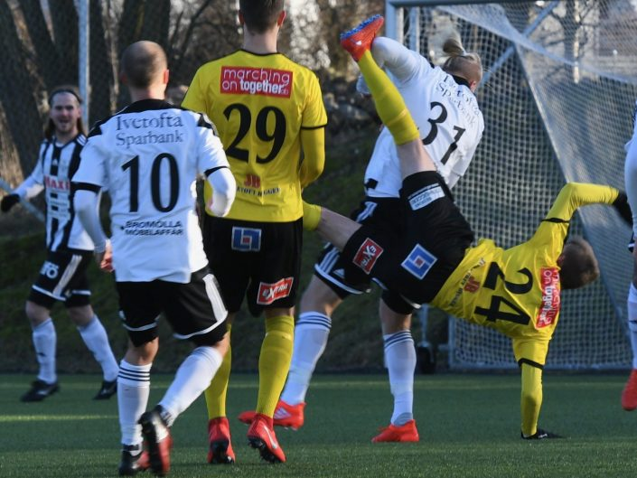 Träningsmatch Superettan 2019