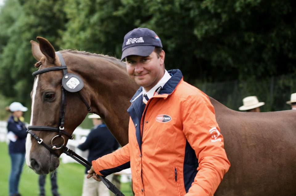 Koos de Ronde NED at FEI European Championship Driving 2019,Donaueschingen