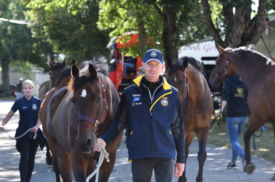Peter Gerborn - Groom Fredrik Persson FEI European Championship 2019, Donaueschingen