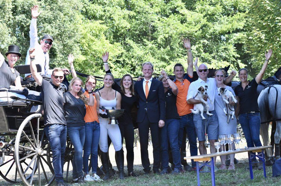 Bram Chardon NED, FEI European Championship Driving 2019,Donaueschingen